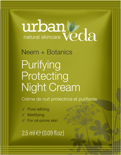 Urban Veda Purifying Night Cream Sachet