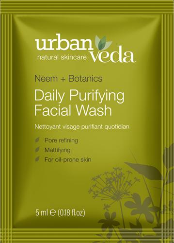 Urban Veda Purifying Facial Wash Sachet
