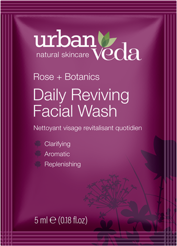 Urban Veda Reviving Facial Wash Sachet