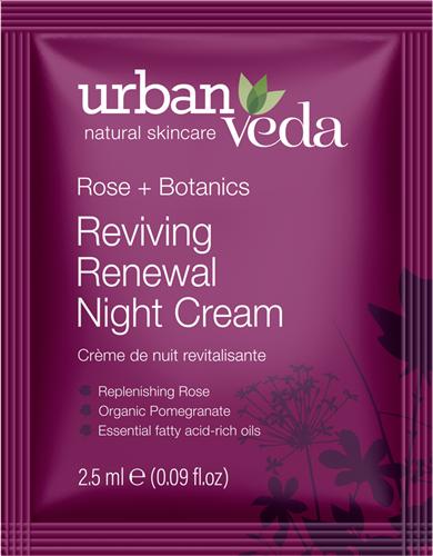 Urban Veda Reviving Night Cream Sachet