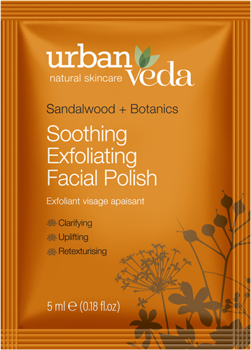 Urban Veda Soothing Facial Polish Sachet