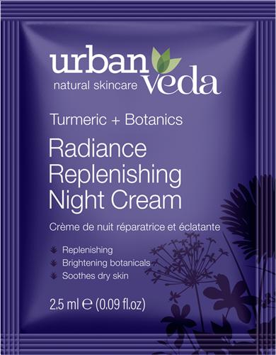 Urban Veda Radiance Night Cream Sachet