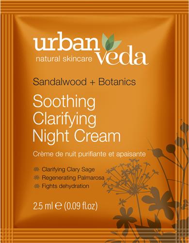 Urban Veda Soothing Night Cream Sachet