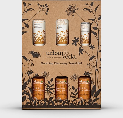 Urban Veda Soothing Complete Discovery Travel Set
