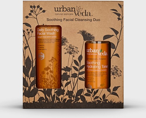 Urban Veda Soothing Facial Cleansing Duo